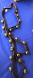 Vintage 20 Sleigh Bell Horse Belt