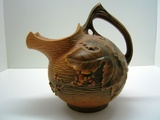 Scarce Roseville Pitcher with Ice Lip