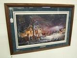 Terry Redlin Winter Wonderland Picture
