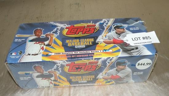 2000 Topps Baseball Card Set Auctions Online Proxibid