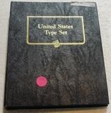 UNITED STATES TYPE SET FOLDER W/29 COINS