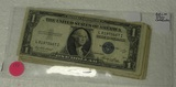15 ONE DOLLAR SILVER CERTIFICATES