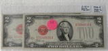 2 NICE EARLY RED SEAL TWO DOLLAR NOTES - 1928-F, 1928-G