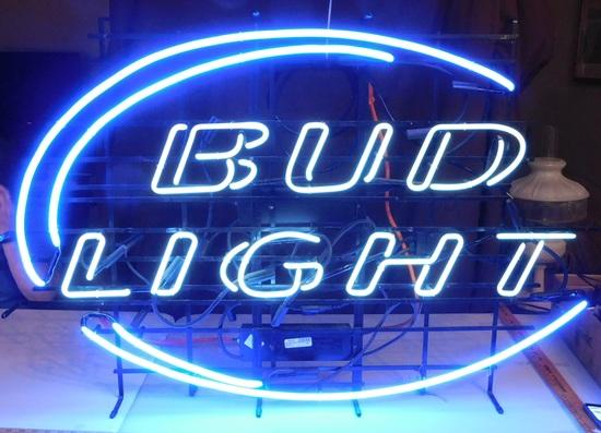 BUD LIGHT NEON LIGHT - WORKS