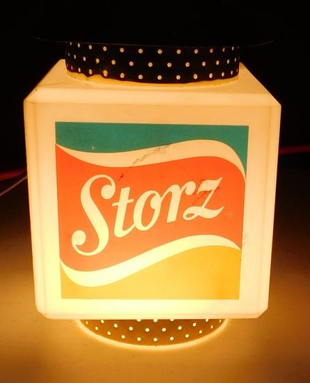 STORZ BEER HANGING PLASTIC LAMP - WORKS
