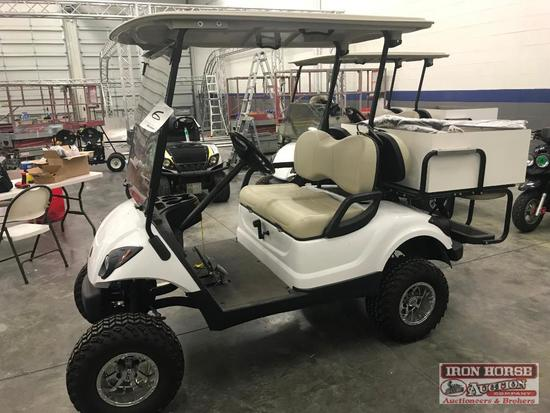 2012 Yamaha 4 Seater Golf Cart
