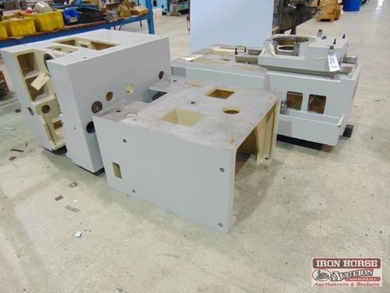 Fellows Model 10-4 CNC Gear Shaper Partial Frame