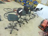 (7) Shop high stools