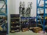 Grouping of parts & shelves