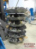 6 tier Parts bin with Hydraulic Hose fittings