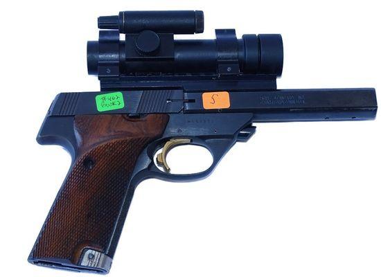 High Standard  Model:Victor  .22 pistol