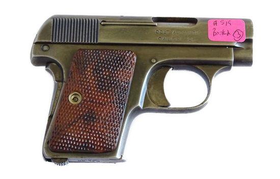 Colt 1908 Hammerless Vest Pock Pistol .25 ACP