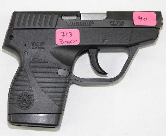 Taurus - Model:PT 738 - .380 acp- pistol