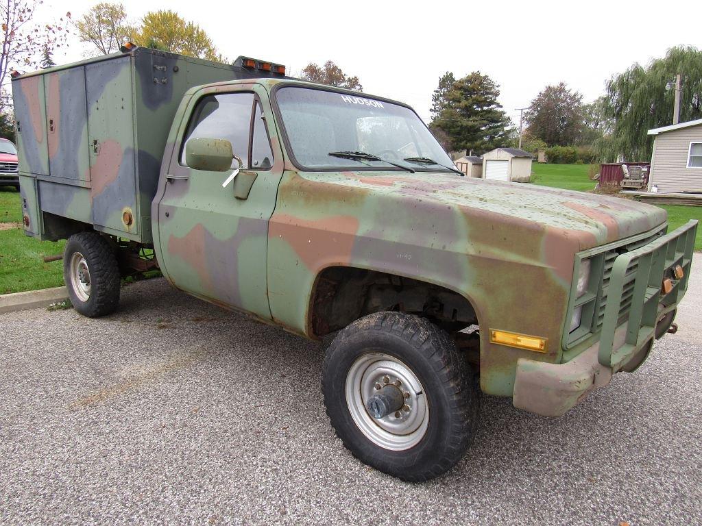 1986 Maintenance Contact Truck