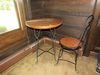 Ice Cream Parlor Table & Chair