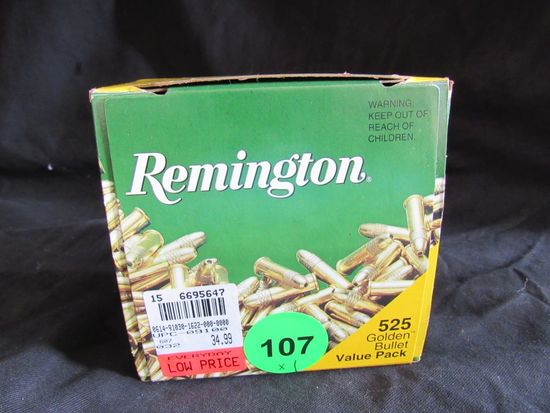 Remington 22 Long Rifle Hollow Points