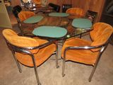 Octagon Table and 4 Chairs