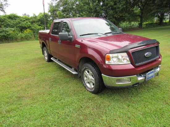 2004 Ford 150 Supercrew Truck  Estate Vehicle