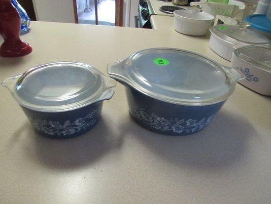 Pyrex bake dishes