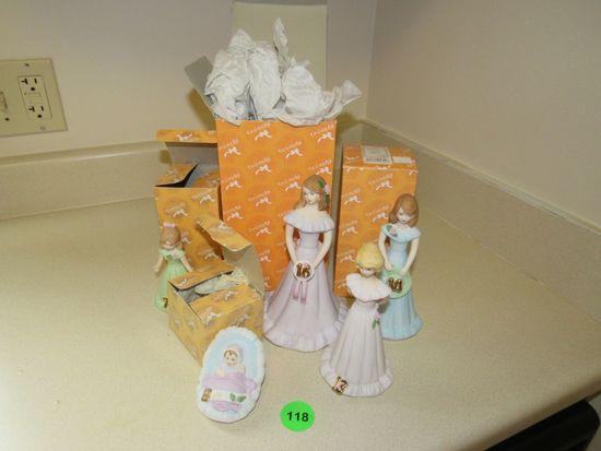 birthday porcelain dolls