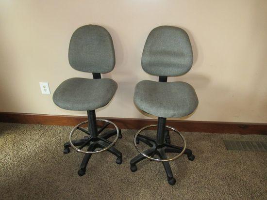 2 Barstool Chairs