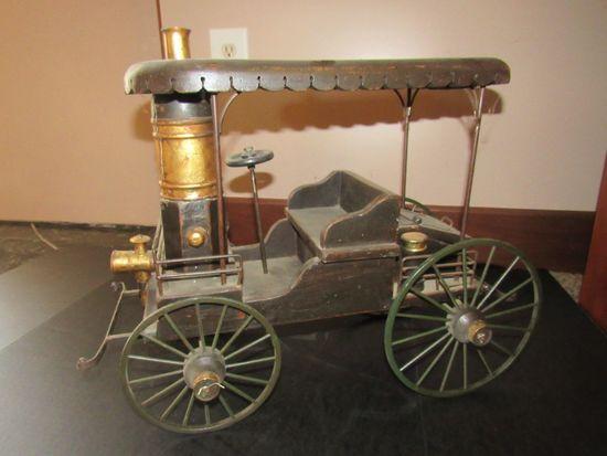 Decorative Wooden Wagon