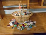 Basket full of matches