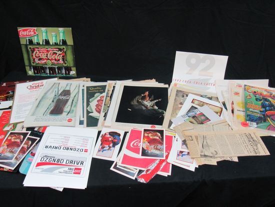 Coca Cola advertising lot and more