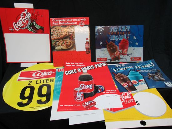Coca Cola posters and more