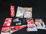 Coca Cola memberobelia and White Sox collectibles