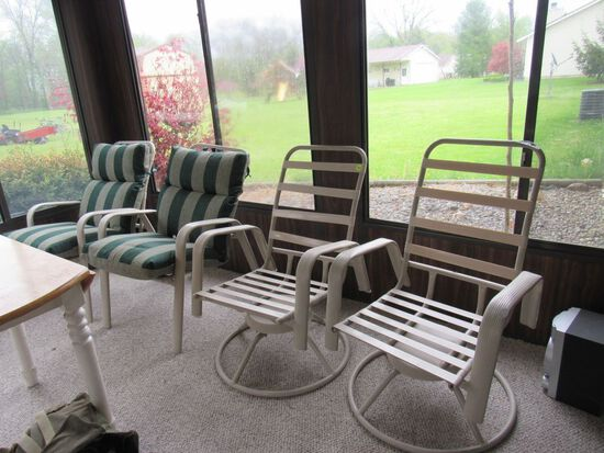 4 piece patio chairs