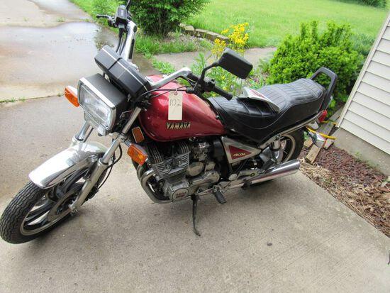 1983 Yamaha Motorcycle & Utility Trailer
