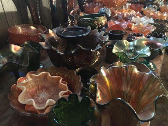 Gerber Carnival Glass #1 Auction