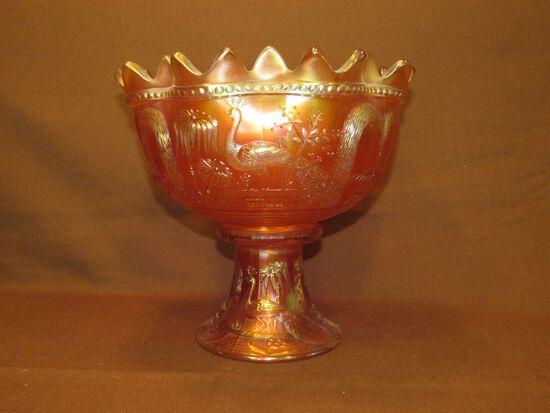 Urn with pedestal