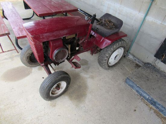 Wheel Horse lawn mower and blade