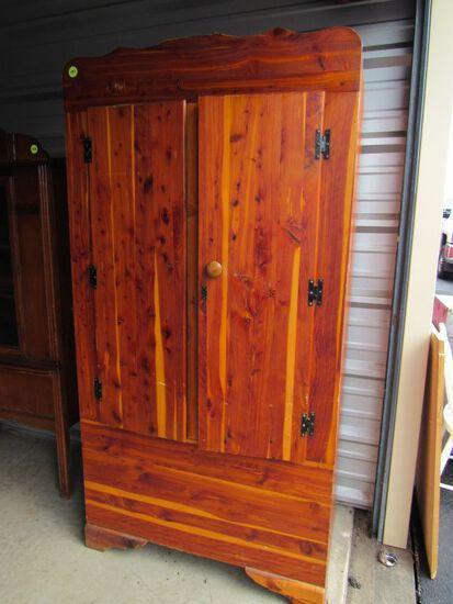 Cedar wardrobe