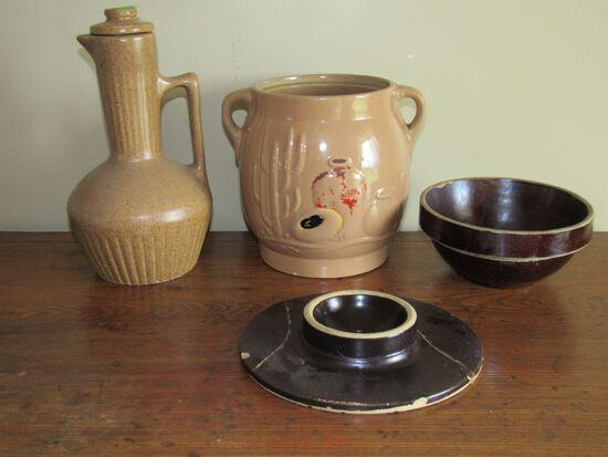 4 pc pottery lot