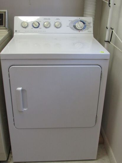 GE gas dryer