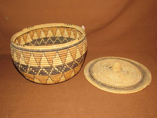 Indian round basket