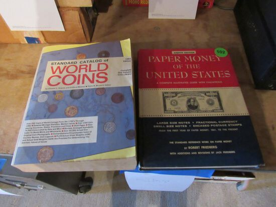 Coin and paper money collector guides