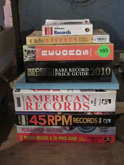 Record collecting books/guides