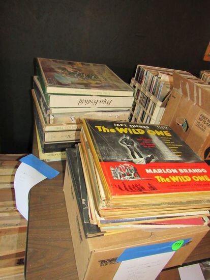 Mixed 78 rpm records
