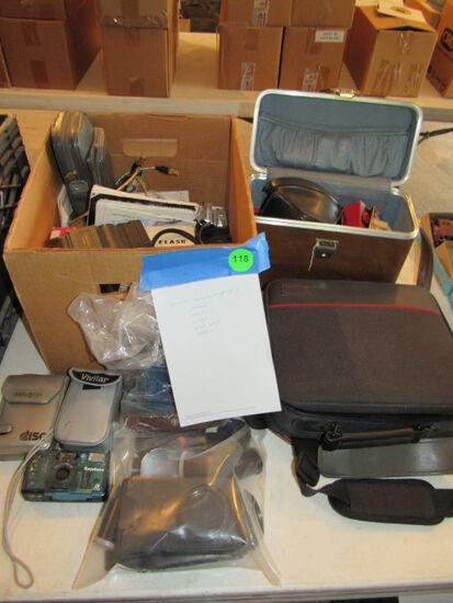 Various camera supplies