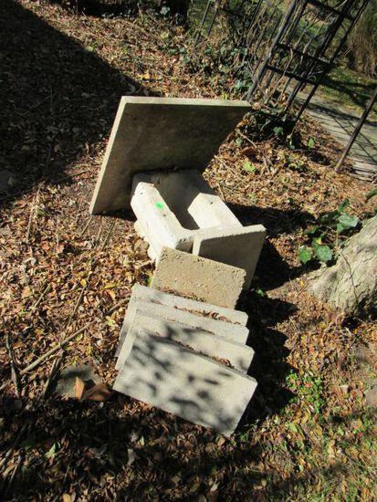 Concrete pieces