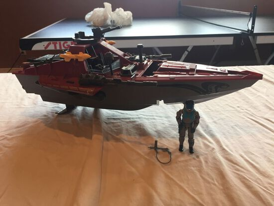 G.I. Joe Cobra Moray Hydrofoil