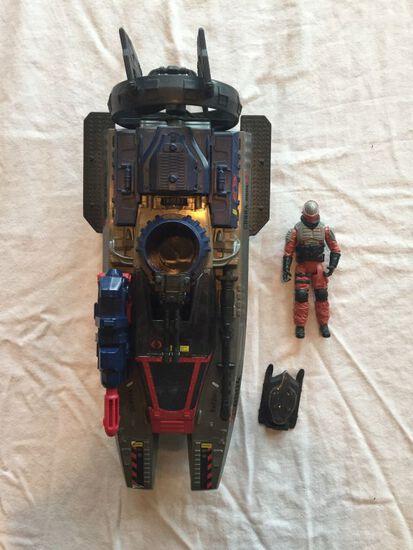 G.I. Joe Retaliation Cobra Fang Boat