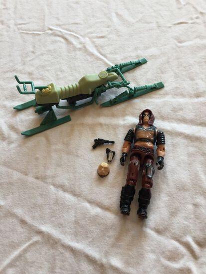 G.I. Joe Dreadnok Chameleon Swamp Skier & G.I. Joe Dreadnok Air Skiff