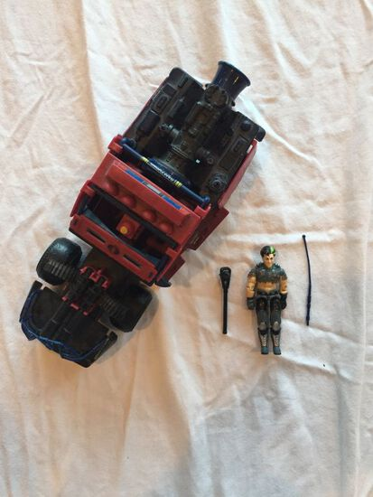 G.I. Joe Dreadnok Thunder Machine and G.I. Joe Dreadnok Swampfire