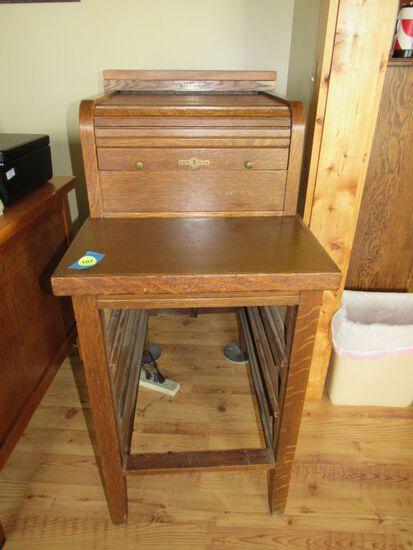 Cash register stand