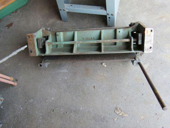 Metal brake